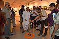 Atanu Ghosh - Inaugural Lamp Lighting - Atanu Ghosh Solo Exhibition - Kolkata 2014-09-16 8104.JPG