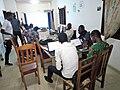Atelier de rédaction d'article a Cotonou par les Wikimédiens du Bénin.jpg