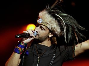 Atif Aslam - Aslam performing at O2 Arena