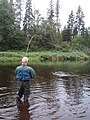 Atlantic Salmon Fishing Cains River New Brunswick (8376386310).jpg