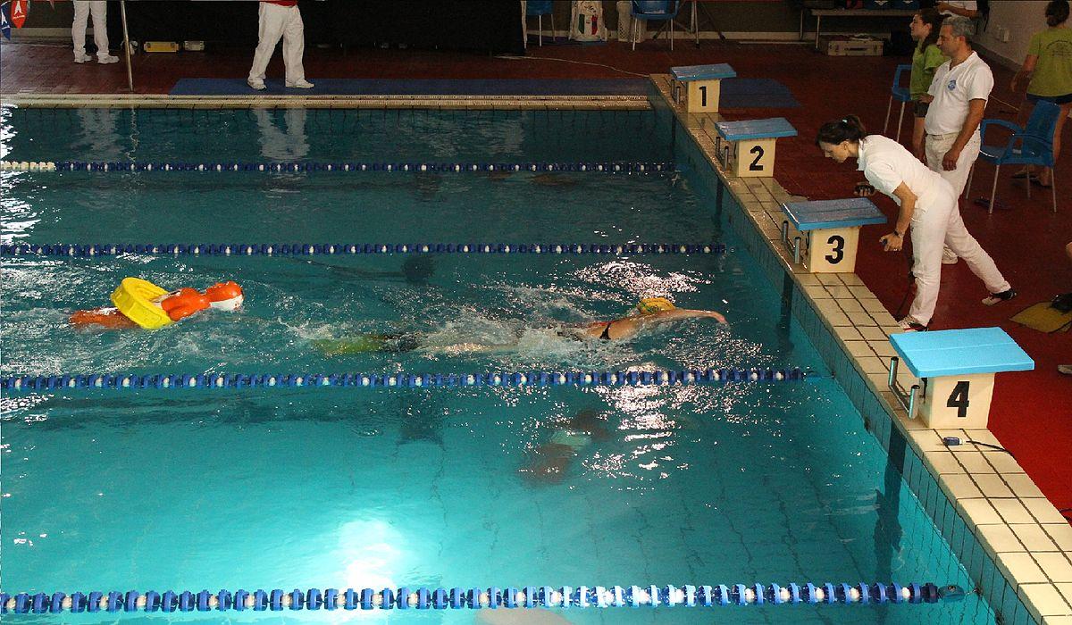 Vasca Da 25 Metri Tempi : Nuoto per salvamento wikipedia
