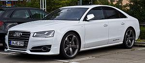 F-segment - Image: Audi S8 (D4, Facelift) – Frontansicht, 16. August 2014, Essen