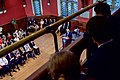 Audience Members Watch as Secretary Kerry Delivers an Address to the Oxford Union Membership in the Debating Chamber (26351008423).jpg