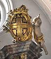 Augsburg Dom Marienkapelle Altar 03 Wappen Gymnich.jpg