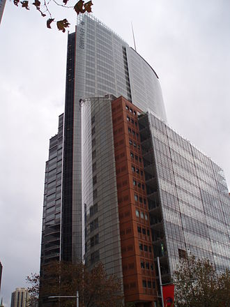 Aurora Place - Aurora Place from Macquarie Street