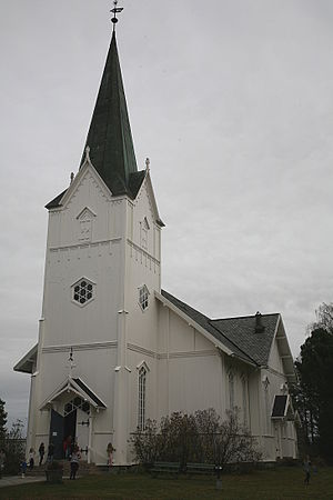 Aurskog - Aurskog Church in Aurskog-Høland