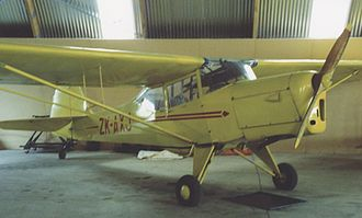 Auster Adventurer - J/5 Adventurer at Ardmore airfield, Auckland, New Zealand in February 1992