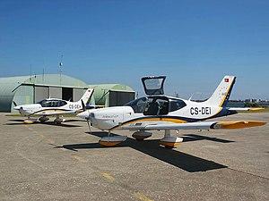 São Jacinto Airport - Two Socata TB-200GTs at Aveiro