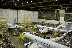 Aveos Fleet Performance - Aveos hangar in Winnipeg, Manitoba, Canada