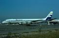 Aviaco Douglas DC-8-54CF Jet Trader EC-CQM BSL Nov 1975.png