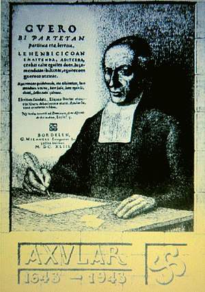 Pedro Agerre - Image: Axular idazlea (1556 1644)