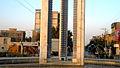 Azadi square in Morning - Nishapur 15.JPG