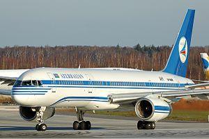 Azerbaijan Airlines Boeing 757 Nikiforov.jpg