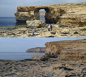Azure Window - Azure Window before and after collapse in 2017