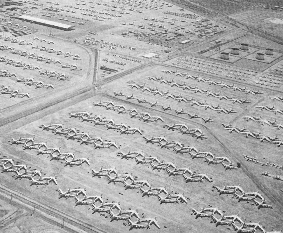 B-47s retired at MASDC 1960s