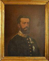 Retrat de Amadeu I de Saboya, rei d'Espanya
