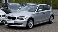 BMW 120d (E87) – Frontansicht, 15. April 2012, Mettmann.jpg