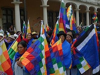 Bartolina Sisa - Bartolina Sisa manifestation, Trinidad (Bolivia).