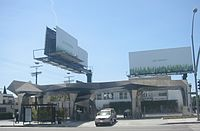 "BP ""Helios"" fueling station in Los Angeles"