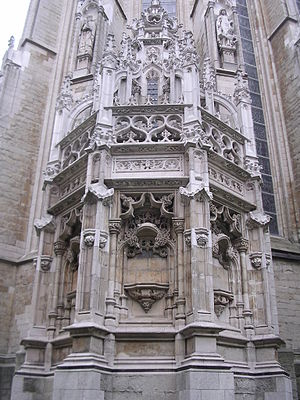 Church of Our Blessed Lady of the Sablon - External view of the sacrarium