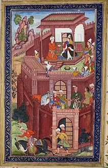 Babur Seeks His Grandmothers Advice.jpg