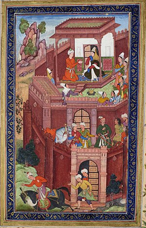 Grandparent - Timurid conqueror Babur seeks the advice of his grandmother.