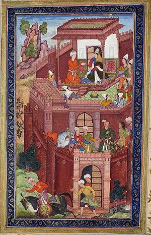 Grandparent - Timurid conqueror Babur seeks the advice of his grandmother.