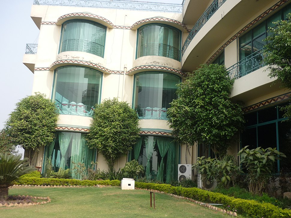 Backside view-Tulip hotel