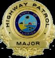 Badge of a Florida Highway Patrol major.png