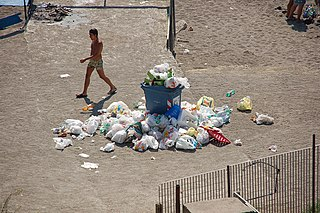 Naples waste management crisis lack of waste collection and illegal toxic waste dumping in Naples, Italy
