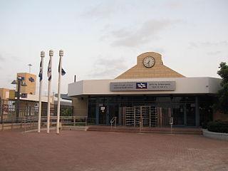Ashdod Ad Halom railway station Railway station in Ashdod, Israel