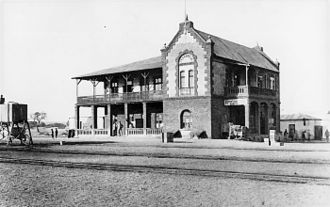 Okahandja - Okahandja Railway Station, 1902