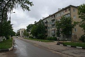 Balabanovo, Kaluga Oblast - Lesnaya Street in Balabanovo