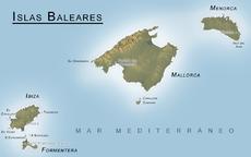 Localización de Mallorca