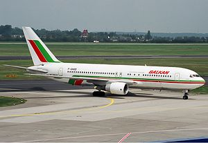 Balkan Bulgarian Airlines Boeing 767-200ER Spijkers.jpg