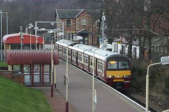 Balloch railway station - Image: Balloch 9