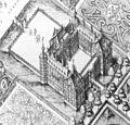 Balthasar Florisz. van Berckenrode - Bird's-Eye View of Honselaarsdijk (detail) - WGA01919.jpg