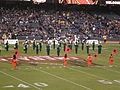 Band of the Hour performing pregame at 2008 Emerald Bowl 4.JPG