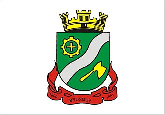 Brusque, Santa Catarina - Image: Bandeira Brusque Santa Catarina Brasil