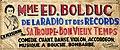 Banderole pour la premiere tournee dirigee par madame Bolduc en 1932.jpg