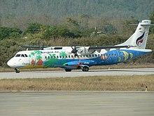 Bangkok Airways ATR 72 (HS-PGG) at Luang Prabang International Airport.jpg