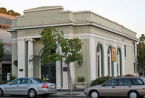 National Register of Historic Places listings in Contra Costa County, California - Image: Bank of Pinole (Pinole, CA)