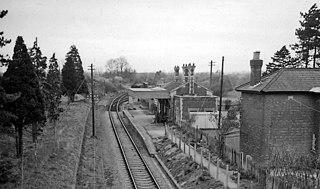 Barbers Bridge railway station