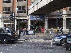 Barbican Tube Station Wikipedia
