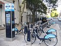 Barclay Cycle Hire Station on Ampton Road - geograph.org.uk - 2127821.jpg