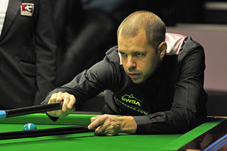 Barry Hawkins English professional snooker player