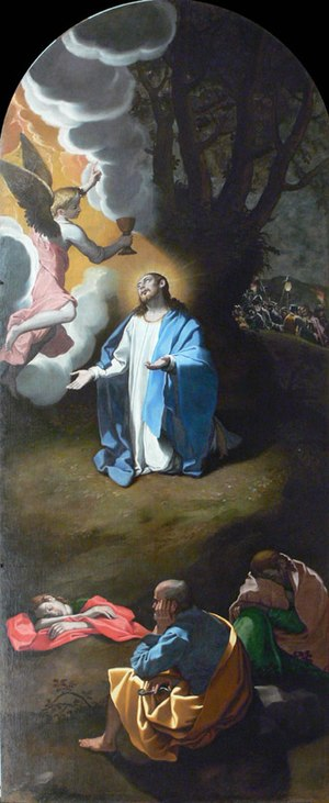 Bartolomeo Cesi - Image: Bartolomeo Cesi Oración en el huerto certosa