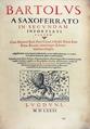 Bartolus de Saxoferrato - Opera omnia, 1581 - 038.tif