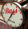 Bass pale ale clock, pic2.JPG