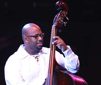 English: Christian McBride leading his group I...